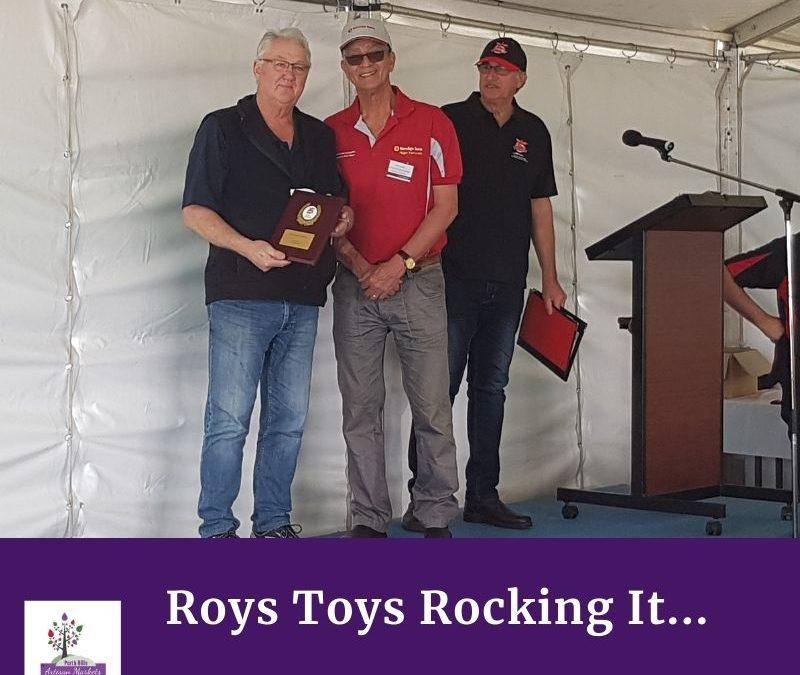 Roys Toys Rocking It
